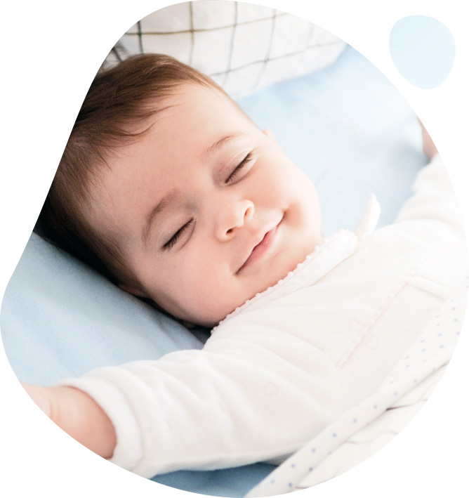 śpiące niemowle